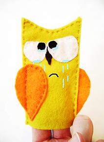 Сова плачет