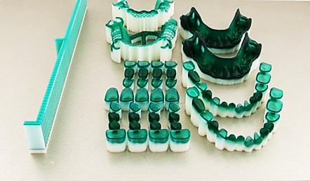 Формы для отливки зубов, напечатанные 3D принтером. / orgprint.com